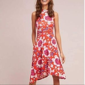 Anthropologie Maeve Cleary Swing Dress NWT
